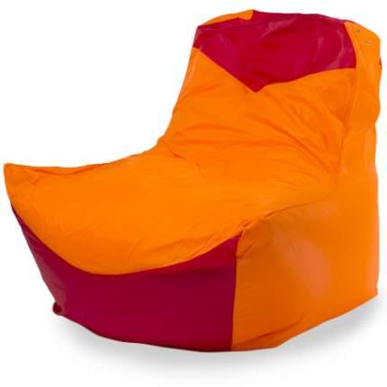 Комплект чехлов Кресло-мешок классическое  100x100x110, Оксфорд Оранжевый и красный