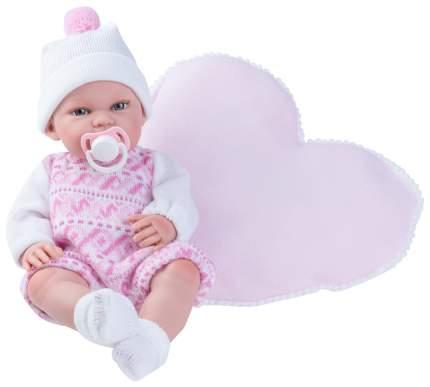 Пупс Nines d'Onil Малышка, с подушкой-сердечком
