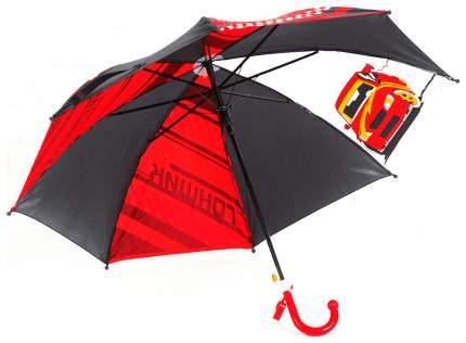 Зонт детский Sima-land  с прозрачным клином Гонщик со свистком