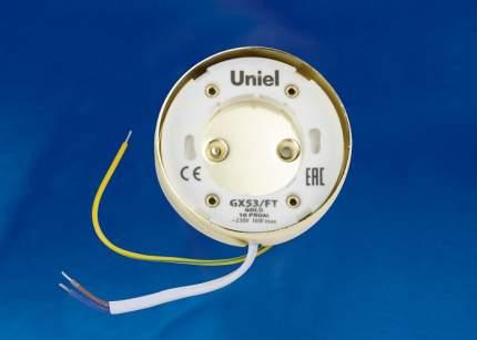 Потолочный светильник (UL-00004147) Uniel GX53/FT Gold 10 Prom