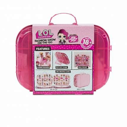 Игровой набор с куклой LOL Surprise Модный контейнер ярко-розовый 562689