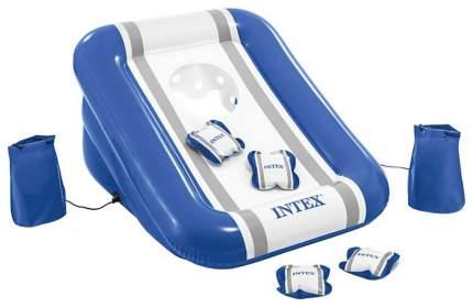 Надувной игровой центр Intex для тренировки броска, 4 подушки в комплекте, 86х71х42 см
