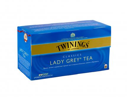 Чай черный Twinings Lady Grey 25 пак