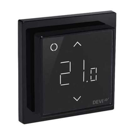 Терморегулятор для теплых полов Devi Devireg Smart Wi-Fi black