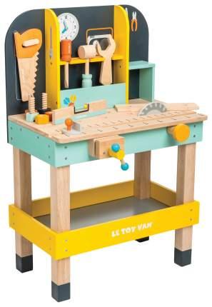 Большой верстак с инструментами Le Toy Van TV475 12 предметов