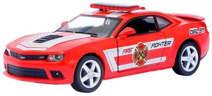 Машина инерционная Kinsmart Chevrolet Camaro Police/Fire Fighter, масштаб 1:38