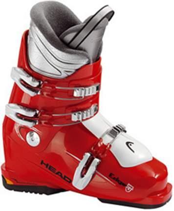 Горнолыжные ботинки Head Edge J3 2015, red/white, 24.5