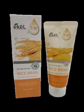 Пилинг для лица с рисовыми отрубями Ekel Peeling Gel Rice Bran 100 мл