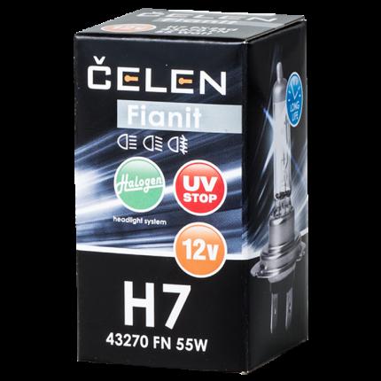 Автолампа H7 43270 FN 12V 55W CELEN Halogen Fianit + 35% Long Life UV-stop ТМ000009508
