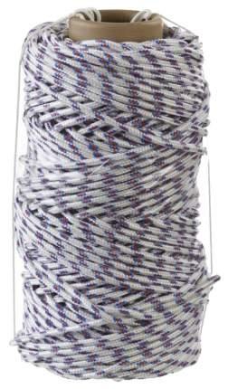 Фал плетёный полипропиленовый СИБИН 16-прядный диаметр 8 мм, бухта 100 м, 520 кгс