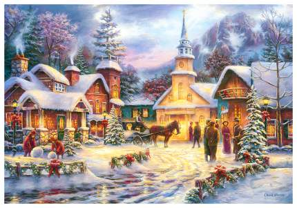 Пазл Castorland Праздник рождества