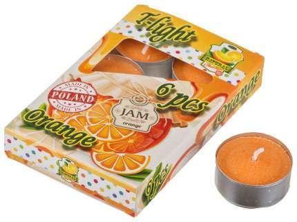 Набор свечей Adpal 348-480 Оранжевый