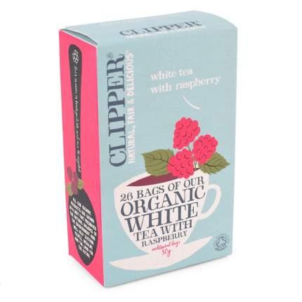 Чай белый Clipper с малиной органик 26 пакетиков