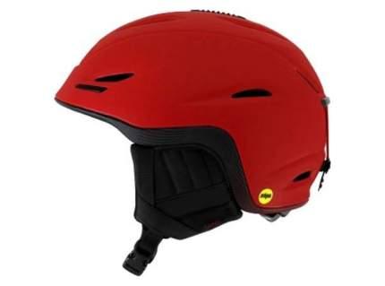 Горнолыжный шлем мужской Giro Bevel 2017, красный, L