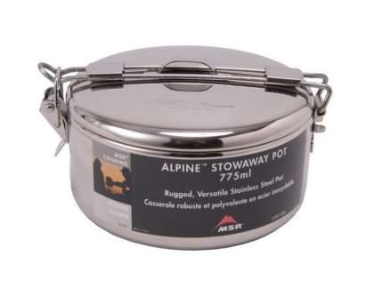 Туристическая кастрюля MSR Alpine Stowaway Pots стальная 1,1 л