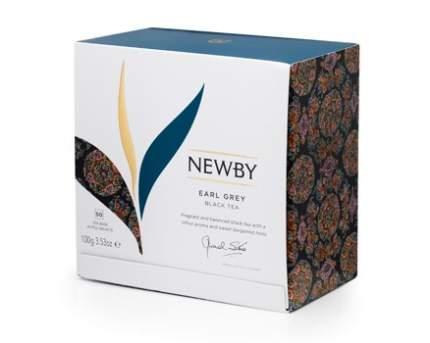 Чай черный Newby earl grey с бергамотом 50 пакетиков