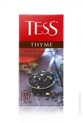 Чай черный Tess thyme фруктовый 25 пакетиков