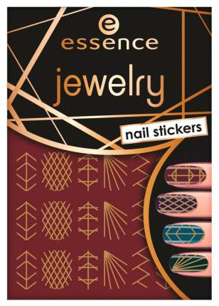 Наклейки для ногтей essence Jewelry Nail Stickers