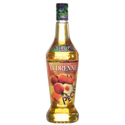 Сироп Vedrenne персик 0.7 л