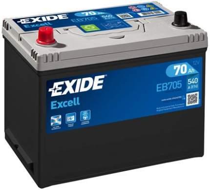 Аккумулятор автомобильный EXIDE EB705 70 Ач