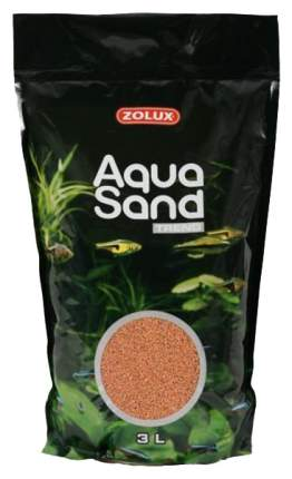 Песок Zolux Aquasand Trend Savannah Orange для аквариума, оранжевый, (3 л (4,72 кг))