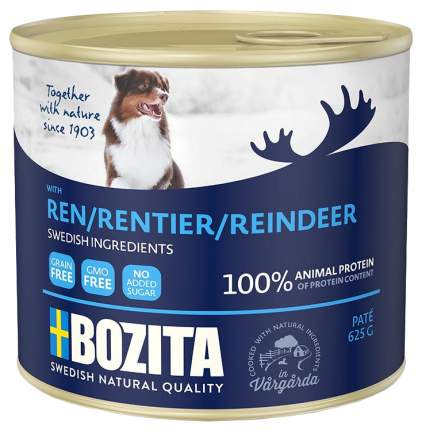 Консервы для собак BOZITA, оленина, 625г