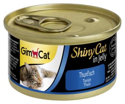 Консервы для кошек GimPet ShinyCat, рыба, 48шт, 70г