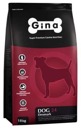 Сухой корм для собак GINA Dog 24 Adult, ягненок, рис, 18кг