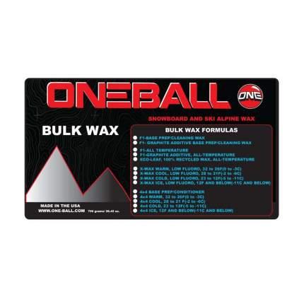 Парафин Oneball Bulk X-Wax Base Prep для всех температур 750 г