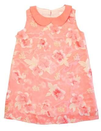 Платье Bon&Bon 3Д коралловое 575 р.128