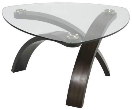 Журнальный столик Мебелик Гурон 3 482 76х73х44 см, венге