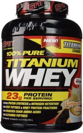 Протеин SAN Titanium Whey 100% Pure 2240 г Cappuccino Cream