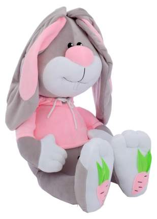 Мягкая игрушка Princess Love Заяц Морковкин, серый, 60 см
