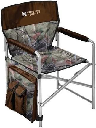 Кресло складное Nika КС2 хант/коричневый