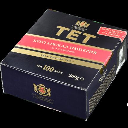 Чай Tet британская империя черный 100 пакетиков