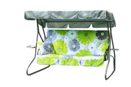 Садовые качели Olsa Люкс-3 C907 211,5x154,3x160 см серый, зеленый