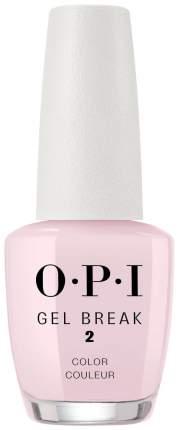 Уходовое средство OPI Gel Break NTR03 Properly Pink 15 мл