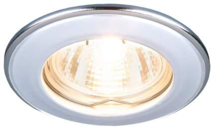 Встраиваемый светильник Elektrostandard 7002 MR16 WH/SL Белый/Серебро a035073