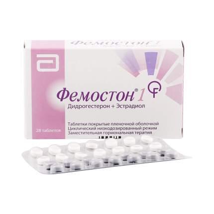 Фемостон таблетки 1 мг+10 мг 28 шт.