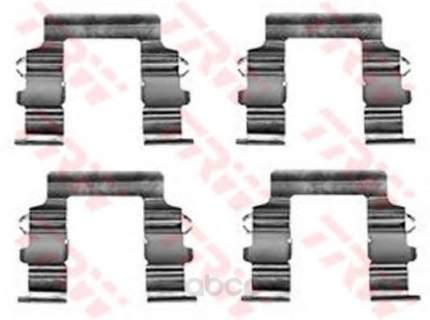 Ремкомплект торм. колодок пер  mitsubishi santamo 2.0 16v 99/lancer 1.6 TRW/Lucas PFK336