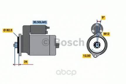 Стартер Bosch 0986018940