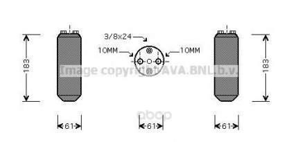 Радиатор кондиционера автомобильный Ava DND231