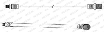 Шланг тормозной FERODO FHY2796