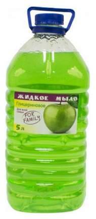 Жидкое мыло Северная Жемчужина Для всей семьи Яблоко 5 л