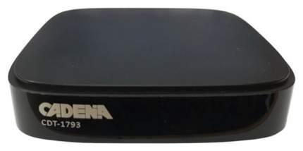 DVB-T2 приставка Cadena CDT-1793 Black
