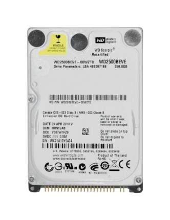 Внутренний жесткий диск Western Digital 250GB (WD2500BEVE)