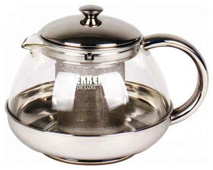 Заварочный чайник Bekker BK-399 Прозрачный, серебристый