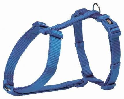 Шлейка для собак TRIXIE Premium, XXS–XS: 20–32см/10мм, королевский синий