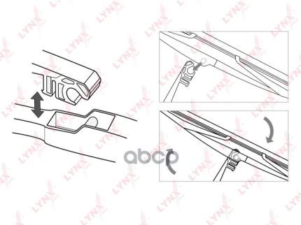 Щетка стеклоочистителя LYNXauto lr30e