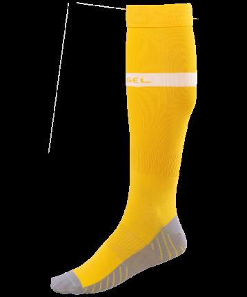 Гетры Jogel JA-003, желтые/белые, 42-44 EU